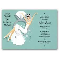 bridal shower cards rectangular shape bridal shower invitation cards soft blue