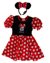 disney parks authentic minnie mouse halloween costume dress