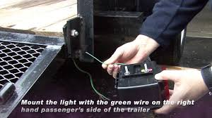 blazer trailer light installation video youtube