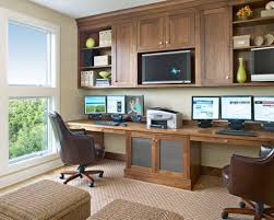 Home Office Design Youtube by Home Office Design For Two People Youtube Beautiful House Ideas