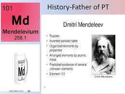 Who Invented Periodic Table Chapter 10 The Periodic Table Ch 10 Less 1 Objective Learn About