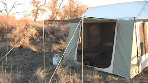 Tent Cabin by Kodiak Canvas Cabin Tent Camping Youtube