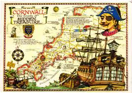 pirate wall stickers for boys pirate decals wall murals clip pirate map of cornwall england map collection