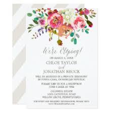 elopement invitations elopement invitations announcements zazzle