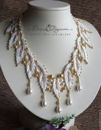 making necklace with bead images 12327 best bead patterns neckles images in 2018 jpg