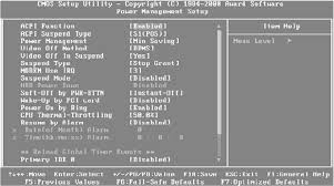 Resume On Rtc Alarm Bios Setup All About Bios Page 15