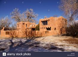 mabel dodge luhan house taos nm bed and breakfast new mexico stock