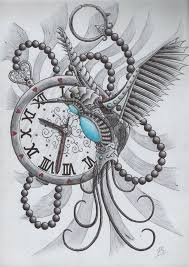 clock tattoo design on pinterest clock tattoos tattoos and