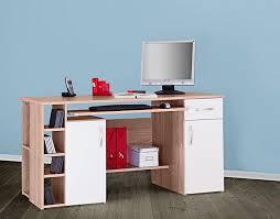 Pc Tisch 4129 Computertisch Schreibtisch Pc Tisch In Sonoma Eiche