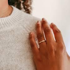 kendra wedding ring simple handmade wedding band by kendra renee