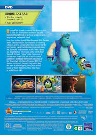 List Of Halloween Monsters by Amazon Com Monsters University Dvd Billy Crystal John Goodman