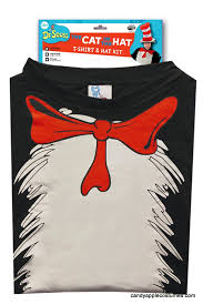 Cat In The Hat Costume Cat In The Hat T Shirt And Hat Costume Dr Seuss Costumes