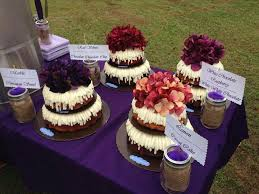 our wedding cakes from
