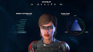 mass effect andromeda u0027s makeup options range from u0027bad bowie u0027 to