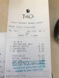 Even Bill Would Check Out - review hyatt regency orange county near disneyland live and
