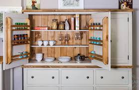 3 door display cabinet a painted kitchen 3 door 6 drawer housekeeping larder cupboard