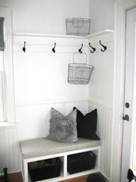 small mudroom bench ottomans and storage cubes entryway bench with storage