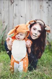 Deer Halloween Costume Women Doe Fawn Deer Costume Mother Baby Costume Halloween