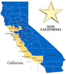 Cal Map New California Map New California