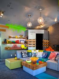 Family Game Rooms Fun Accessories Kidspace Interiors - Fun family room