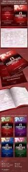 Church Programs Templates Church Bulletin Template Graphics Designs U0026 Templates