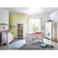 babyzimmer möbel set jalina in weiß kiefer pharao24 de - Babyzimmer Möbel Set