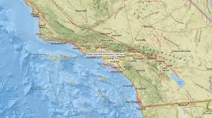 Earthquake Map Los Angeles by Magnitude 3 8 Earthquake Rattles Baldwin Hills Area No Injuries