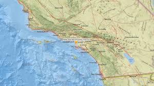 Newport Inglewood Fault Map Magnitude 3 8 Earthquake Rattles Baldwin Hills Area No Injuries