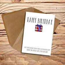funny birthday card friend best friend may your facebook feed