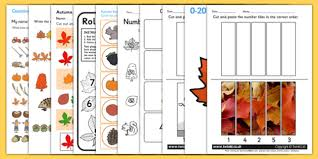 themed maths activity pack numeracy seasons weather