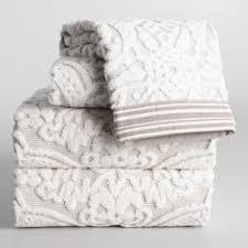 home design brand towels green cassandra sculpted towel collection world market becks