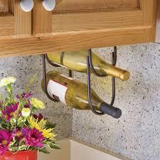 rev a shelf under cabinet wine bottle rack 3250 series rockler