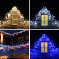 Multi Color Icicle Lights Icicle Lights Ebay
