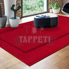 tappeto moderno rosso tappeti rosso acrilico per la casa ebay