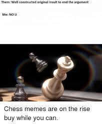 No U Meme - them well constructed original insult to end the argument me no u
