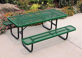 how to repair thermoplastic coatings on metal picnic tables or