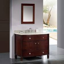42 Inch Bathroom Vanities by Ove Decors Gavin 42 Inch Single Sink Bathroom Vanity With Granite