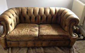 Pigmented Leather Sofa Leather Furniture Deep Cleaned And Conditioned Mobile Service