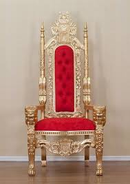 Table And Chair Rental Near Me by Gold Lion King Throne Chair Red Upholstery Thrones Pinterest