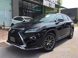 lexus suv malaysia lexus rx200t 2016 f sport 2 0 in penang automatic suv black for rm