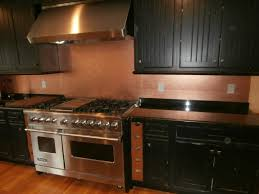 pictures of backsplashes in kitchen copper backsplashes brooks custom