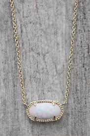 white opal necklace images Kendra scott elisa opal necklace gold and white south moon under jpg