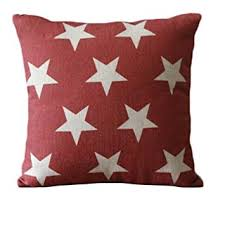 set of 3 patriotic american flag theme pattern