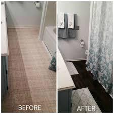 flooring bathroom ideas peel and stick brown tiles for bathroom floor hometalk
