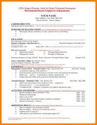 undergraduate curriculum vitae pdf sles 10 undergraduate student cv sle xavierax