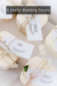 useful wedding favors top 5 diy wedding favors your guests will