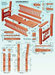 Simple Wood Bench Design Plans by Best 25 Woodworking Bench Plans Ideas On Pinterest Workbench