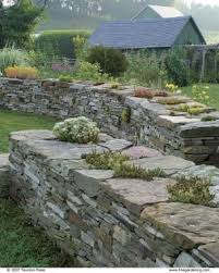 125 best garden walls images on pinterest dry stone landscaping