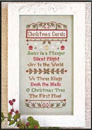 Country Cottage Needlework by Country Cottage Needleworks Christmas Carols Cross Stitch