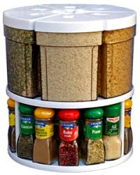 plateau tournant cuisine plateau tournant 27 cm avec ses 6 boites de rangement